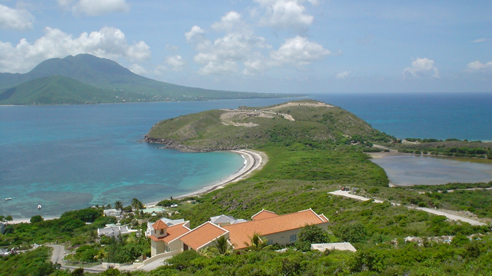 Scenic view of St. Kitts and Nevis