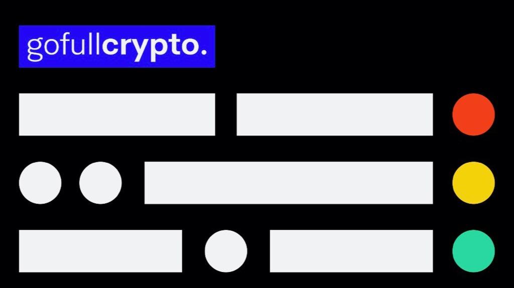 Go Full Crypto in morse code