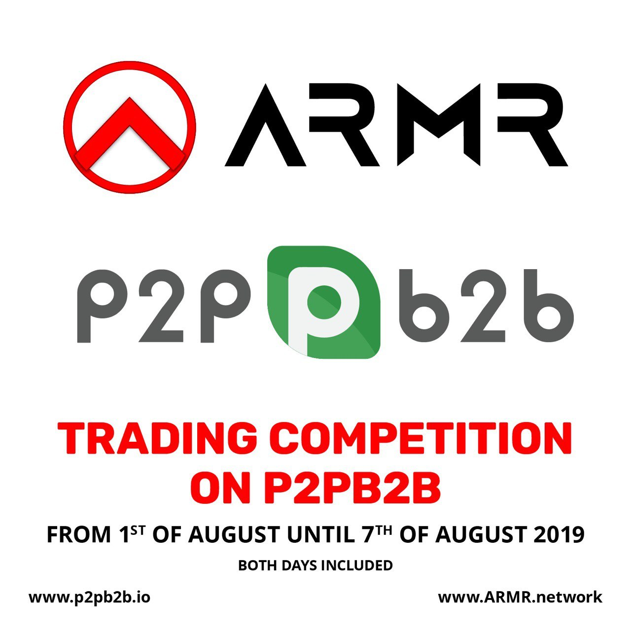 ARMR Trading Competition on p2pb2b