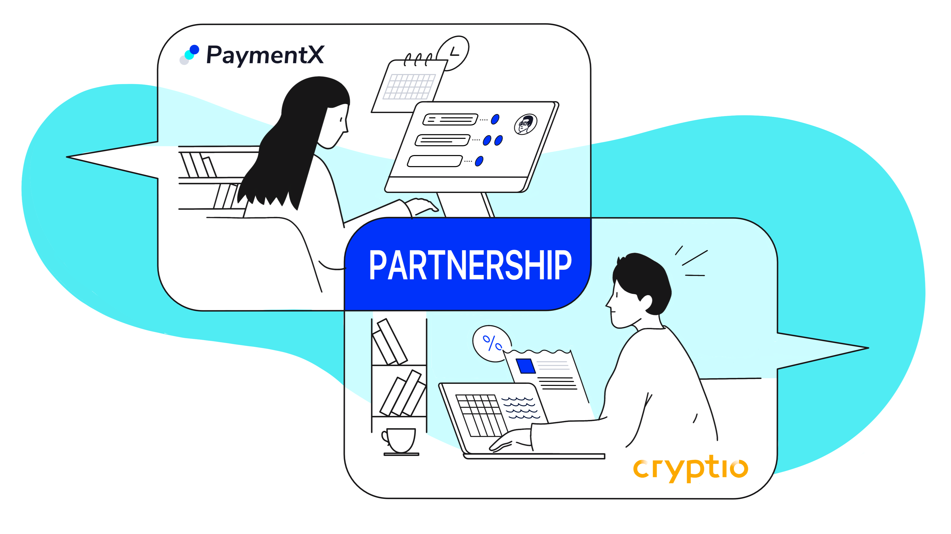 PaymentX Partners with Cryptio