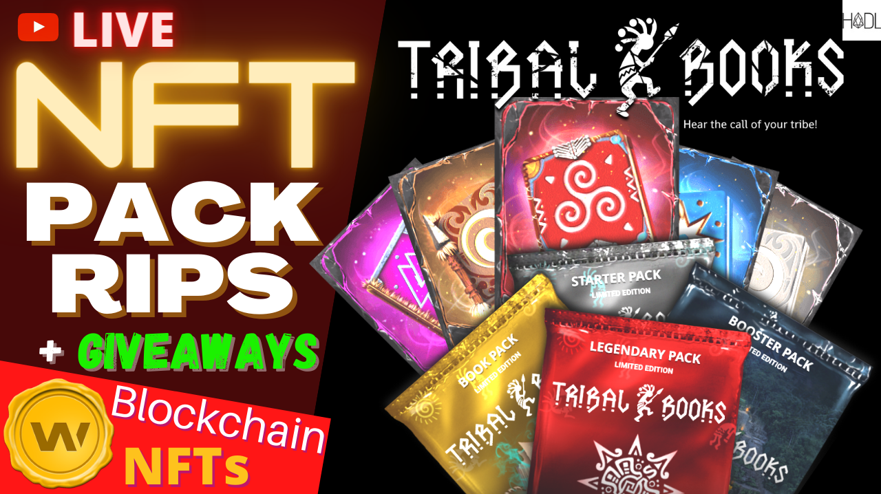 Live NFT Pack Rips and NFT Giveaways