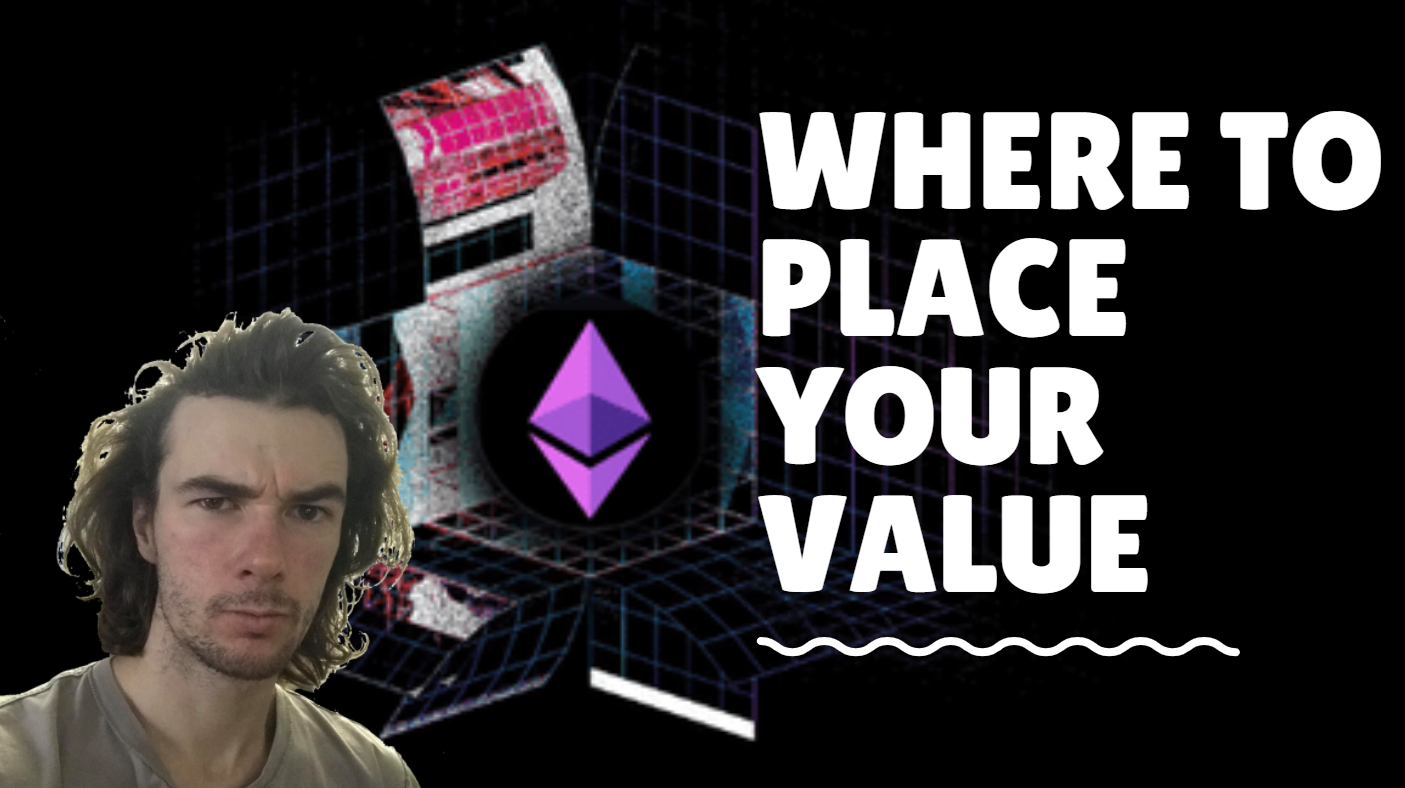 where to place your value