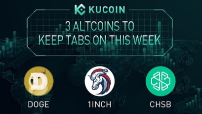 3 Altcoins To Keep Tabs On — DOGE, 1INCH, CHSB | KuCoin Weekly Review Issue #7