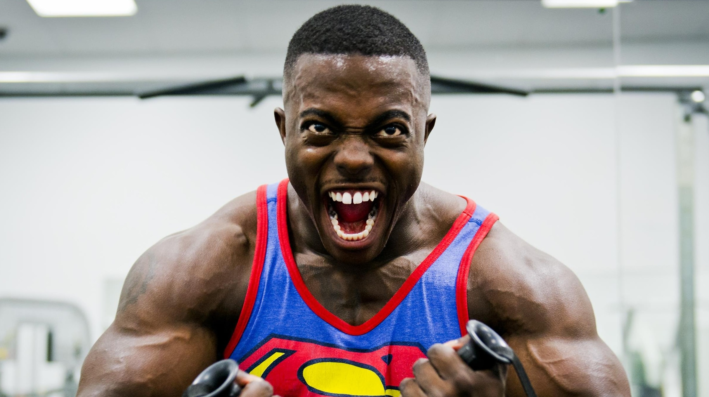 My guy is jacked lol (credit to pexels for dope image)