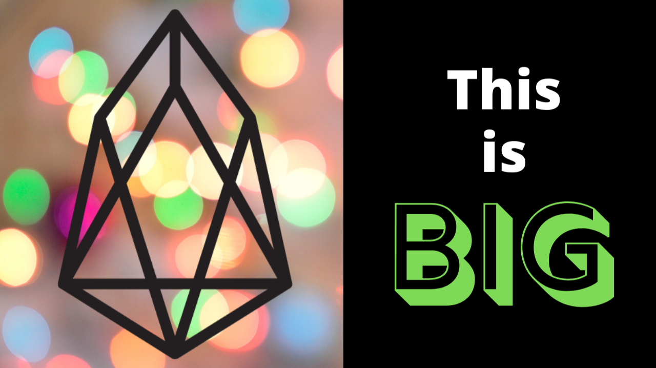 Big News for EOS
