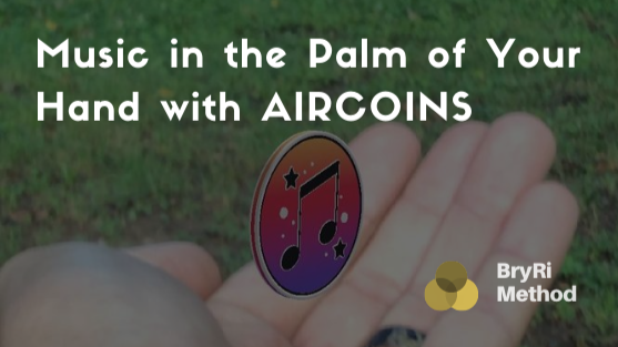 Music in the Palm of Your Hands with AIRCOINS
