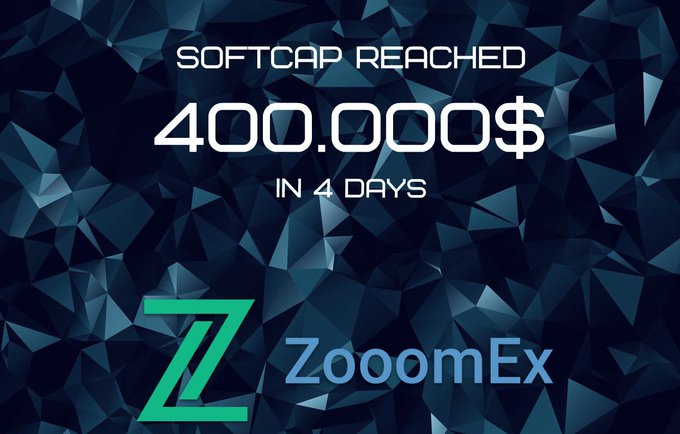 ZoomEX: New and Great Coming Exchange! SoftCap already reached!