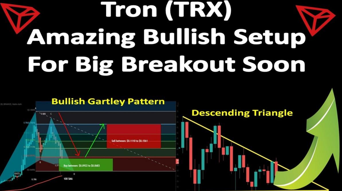 Tron (TRX)   Amazing Bullish Setup For Big Breakout Soon