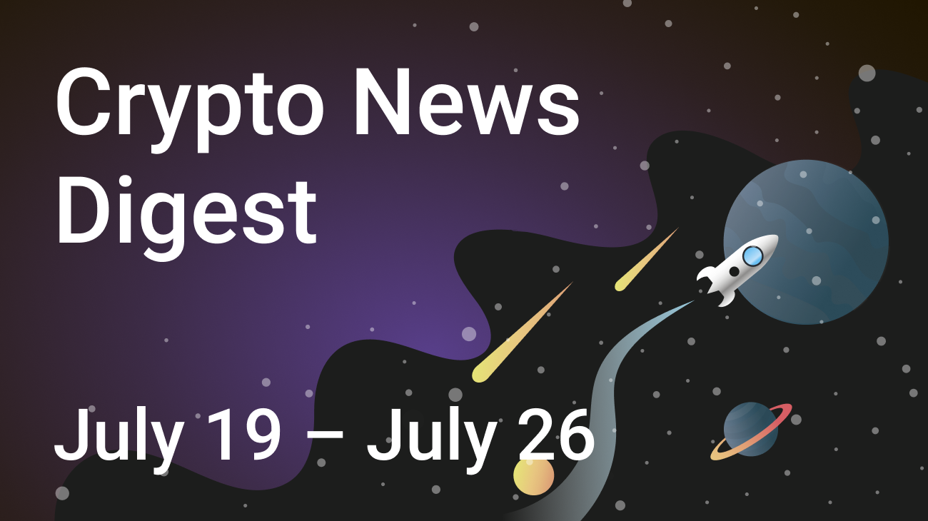 Cryptocurrency news digest by SwapSpace