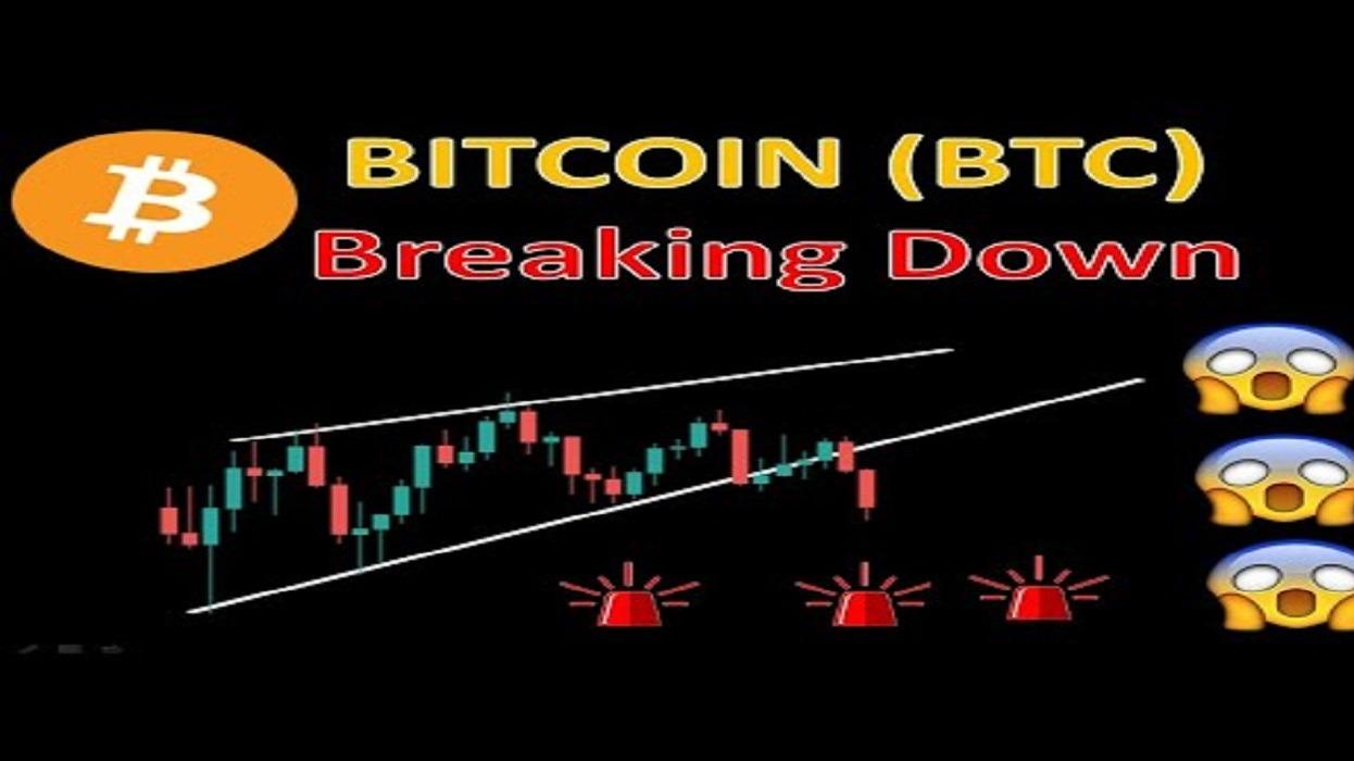 BITCOIN (BTC) Breaking Down