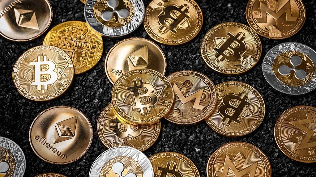 Crypto Coins GFX