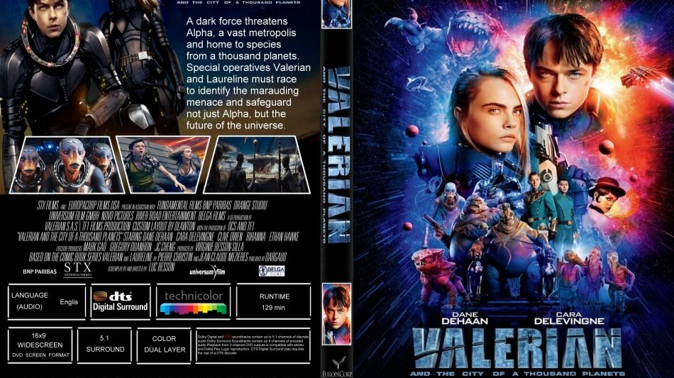 Valerian And The City Of A Thousand Planets 2017 Movie Recommendation