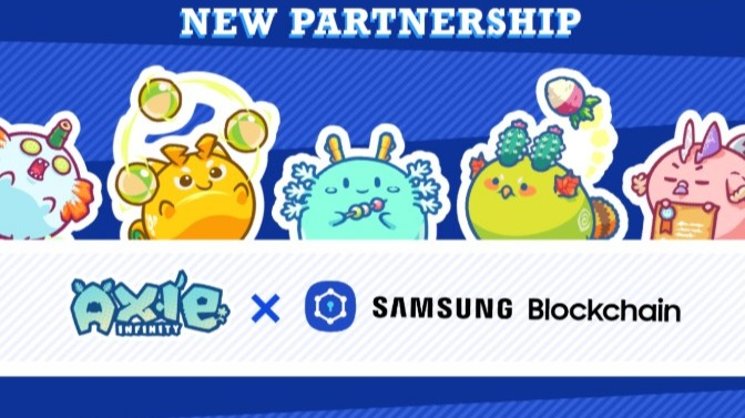 Axie Infinity Partnered With Samsung Blockchain Wallet