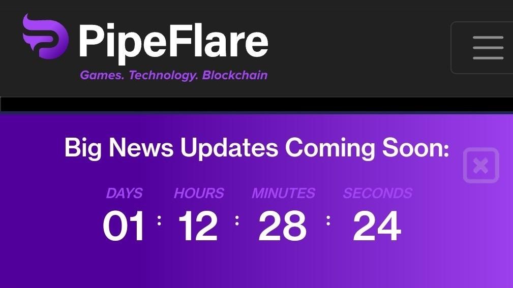 Pipeflare Big News Updates Coming Soon