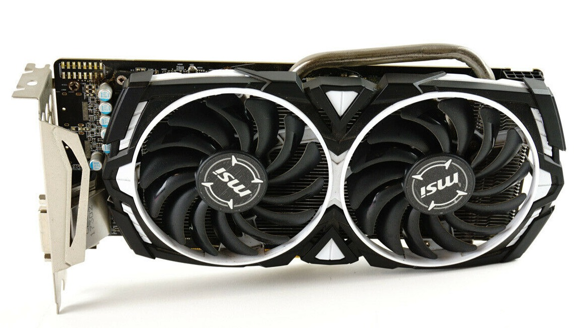 MSI RX 470 Front View