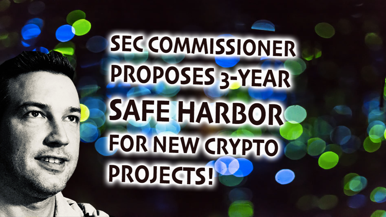 Safe Harbor Will Foster Innovation in the Crypto Sphere!