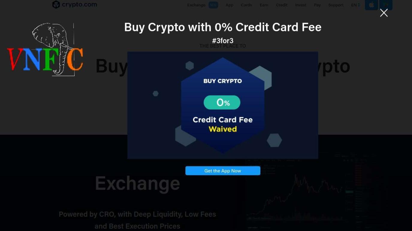 MCO zero fee buying crypto