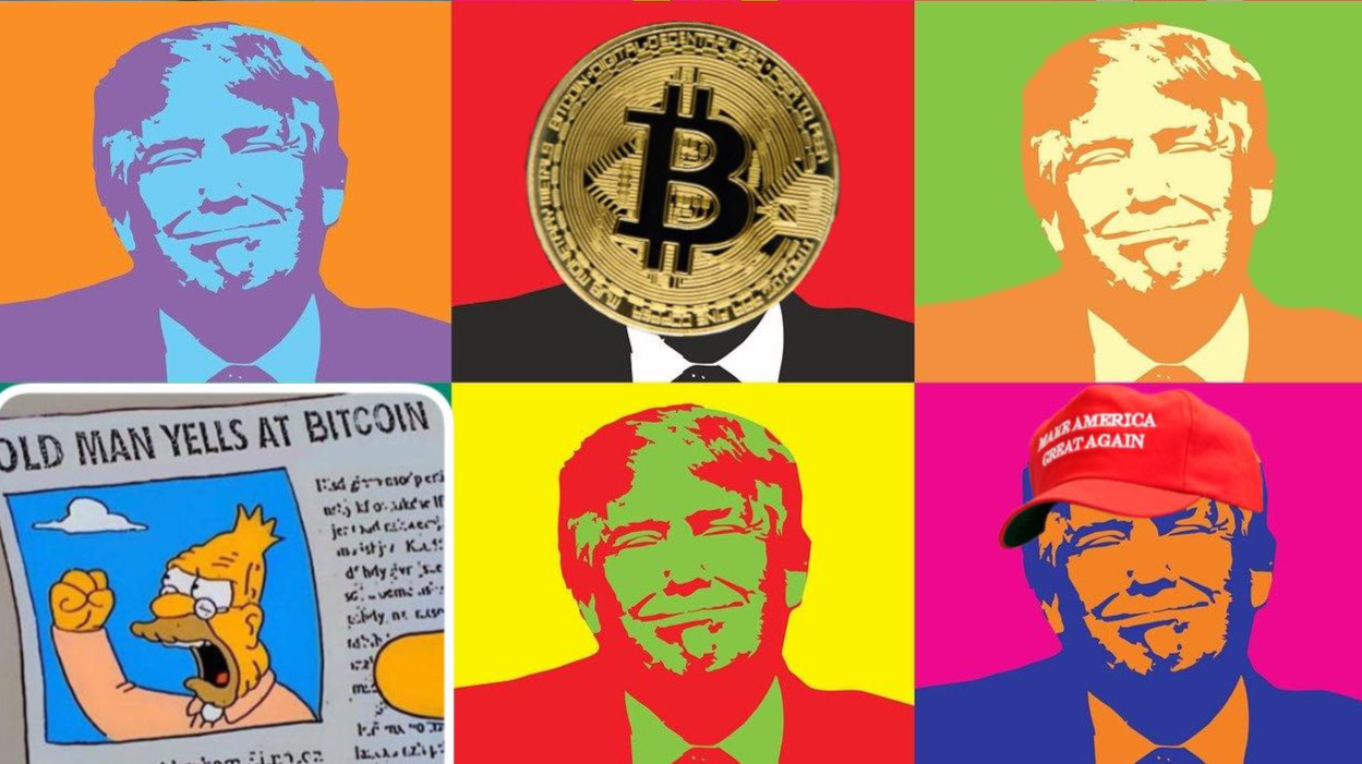 Crypto getting  dragged into politics