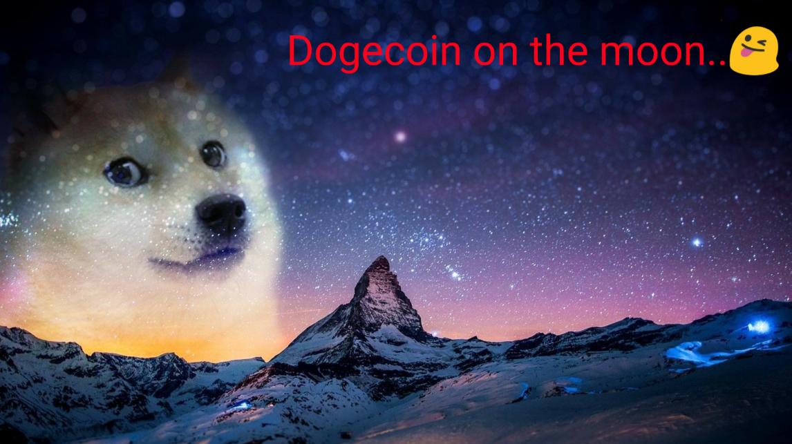 Dogecoin To The Moon - Dogecoin To The Moon By Bushido ...