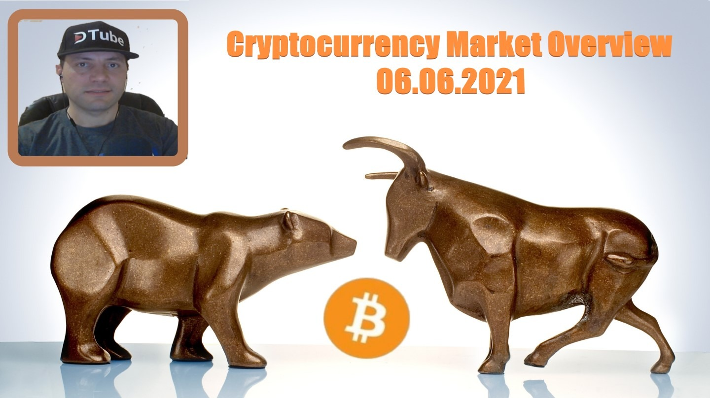 🎥 My Cryptocurrency Market Overview | 06.06.2021