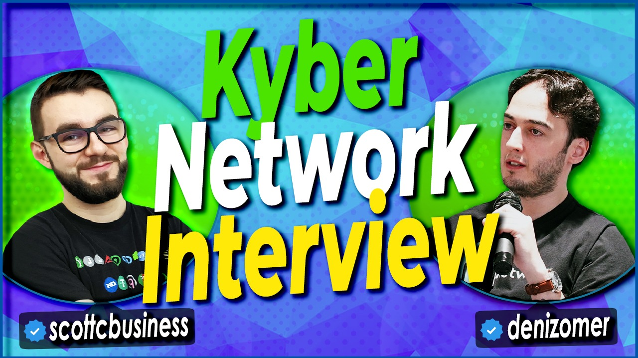 I had the opportunity to discuss Kyber Network with Deniz Omer who is the head of ecosystem growth there.