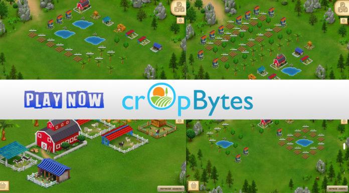 cropbytes an TRON based farm game