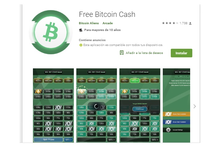 Free Bitcoin Cash FAUCET FOR ANDROID EASY +++++