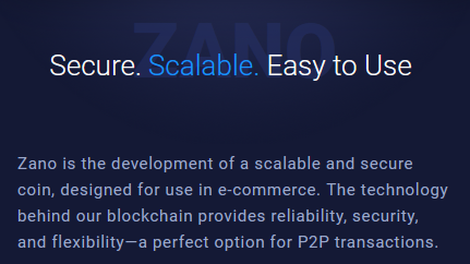 Introduction to Zano.