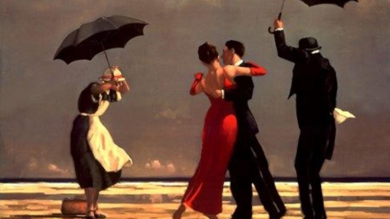 Jack Vettriano – The Singing Butler