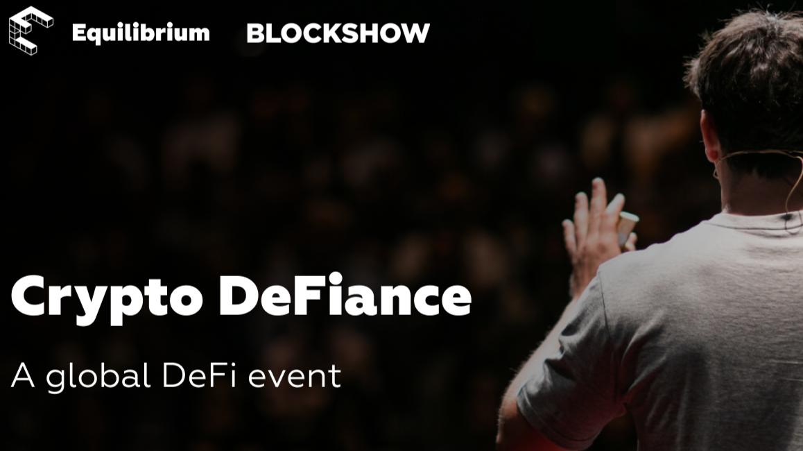 Equilibrium Is Hosting Crypto DeFiance During BlockShow Asia 2019