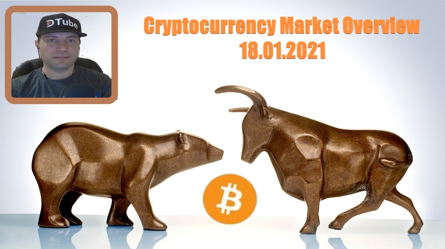 🎥 My Cryptocurrency Market Overview | 18.01.2021