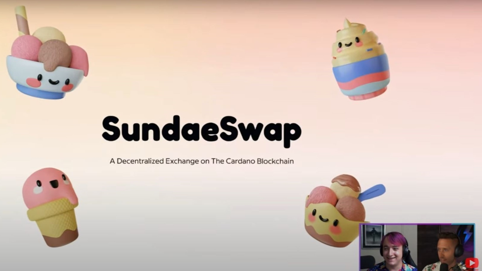 SundaeSwap, DEX on Cardano (Picture: https://www.youtube.com/watch?v=cz-EDAjG3vk)