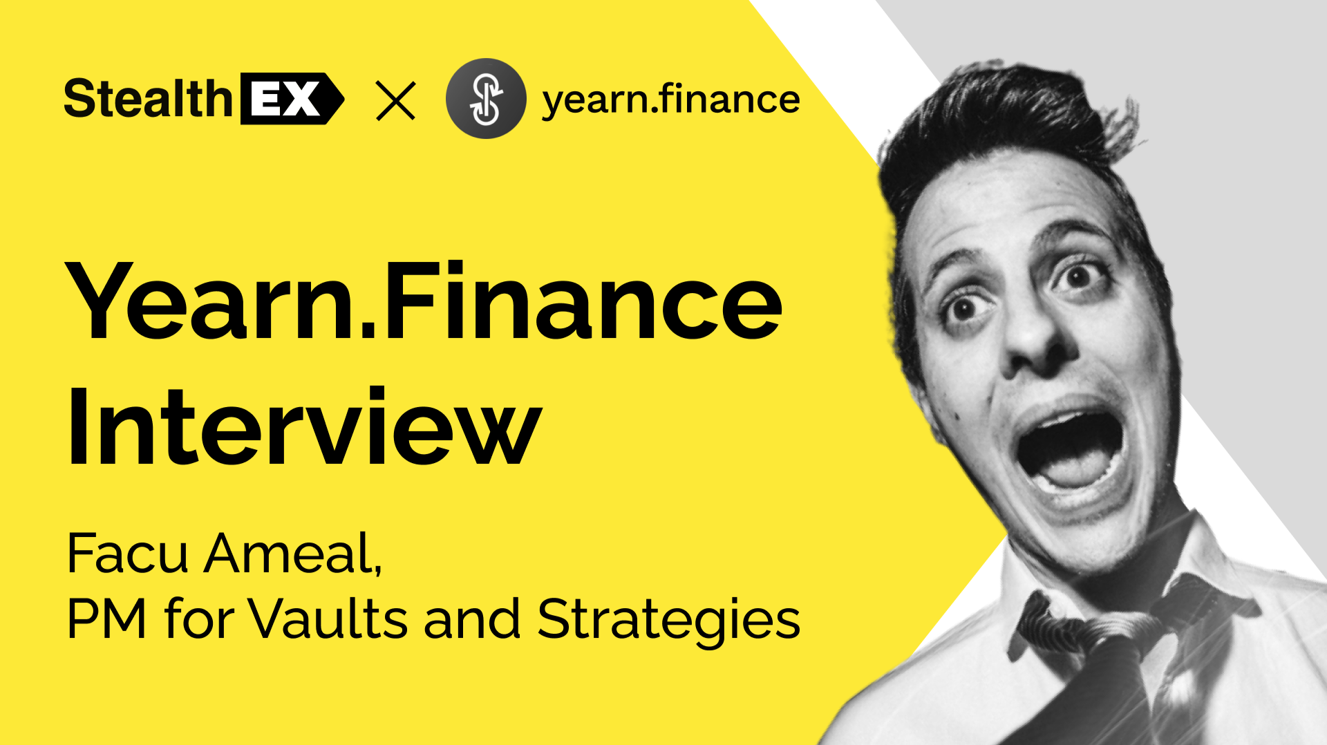 StealthEX Interview With Facu Ameal, Yearn.Finance PM for Vaults and Strategies