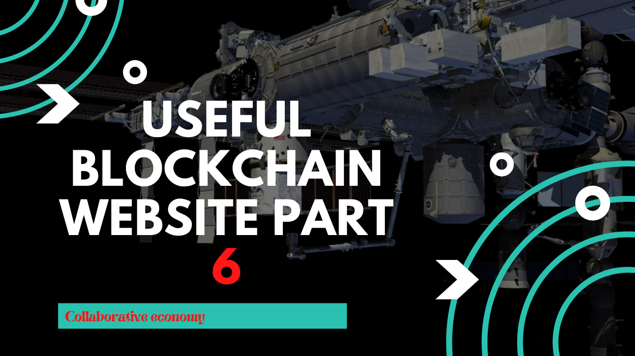 #Part 6, useful blockchain websites