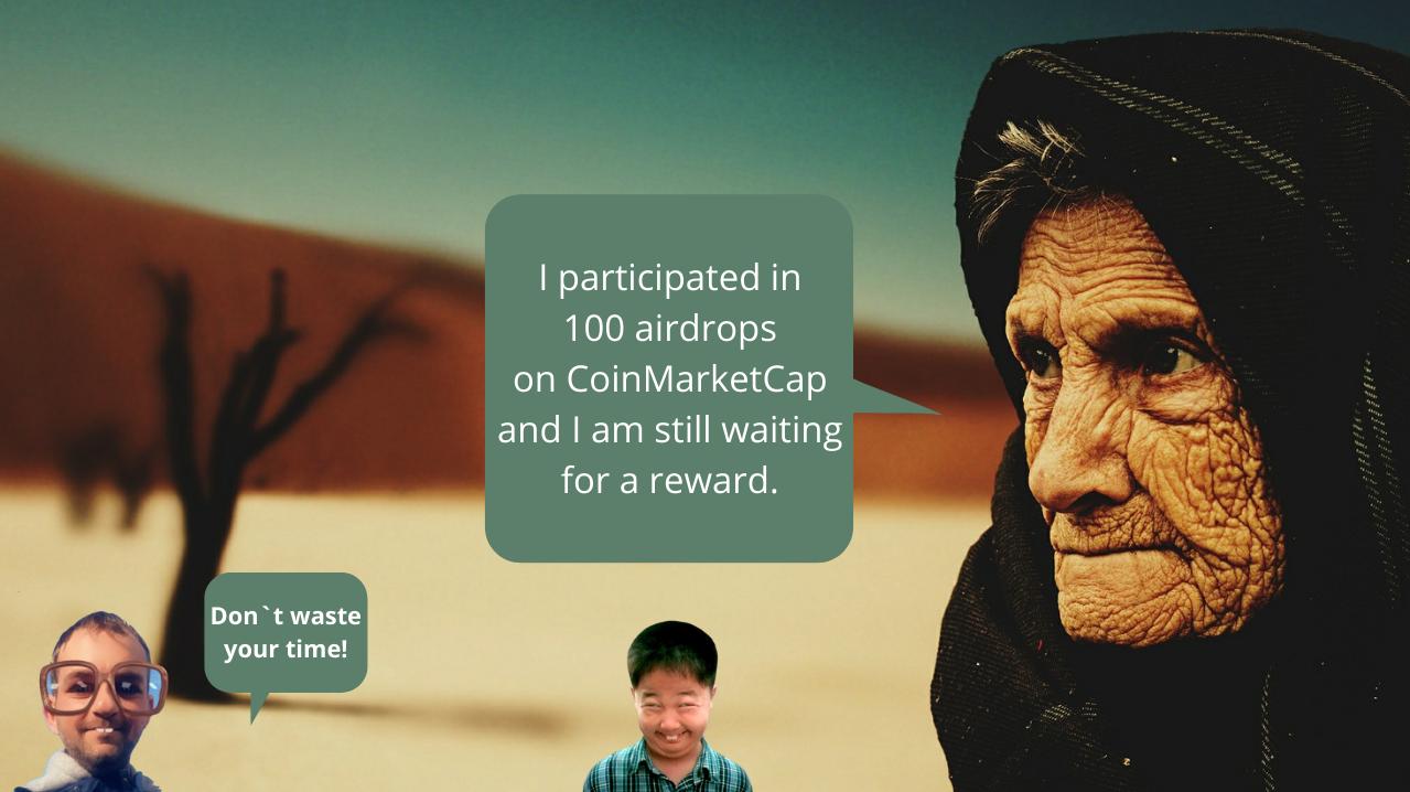 CoinMarketCap time waster
