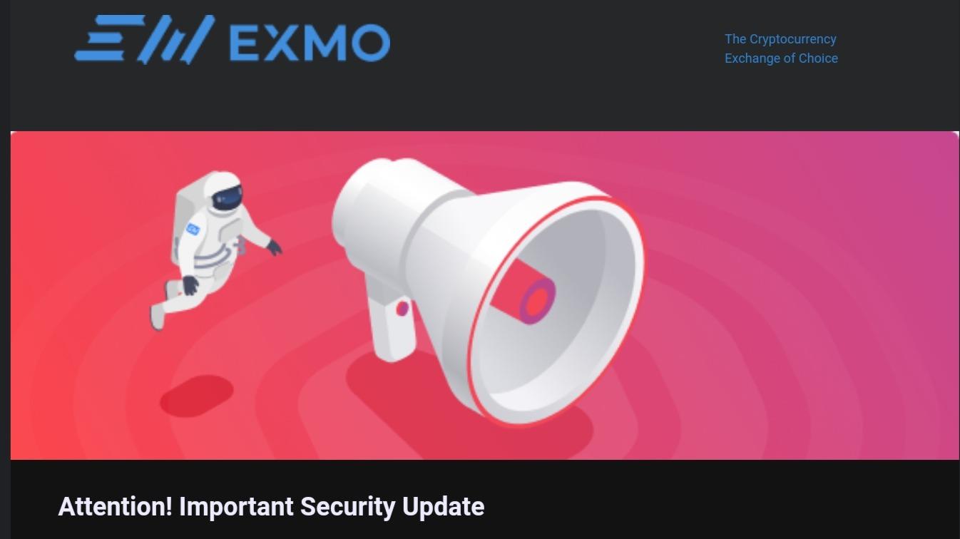 EXMO update