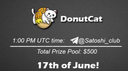 Donutcat x Satoshi Club AMA Recap from 17th of June