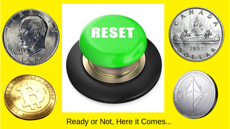 Are You Ready in CryptoLand for the Economic Reset