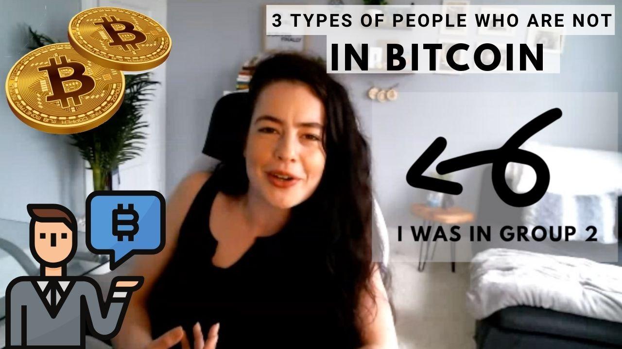 CryptoFinally Crypto Clip, Three types of people who won't buy bitcoin. Marketing Bitcoin to common consumers