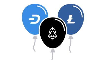Dash, Litecoin, EOS.IO