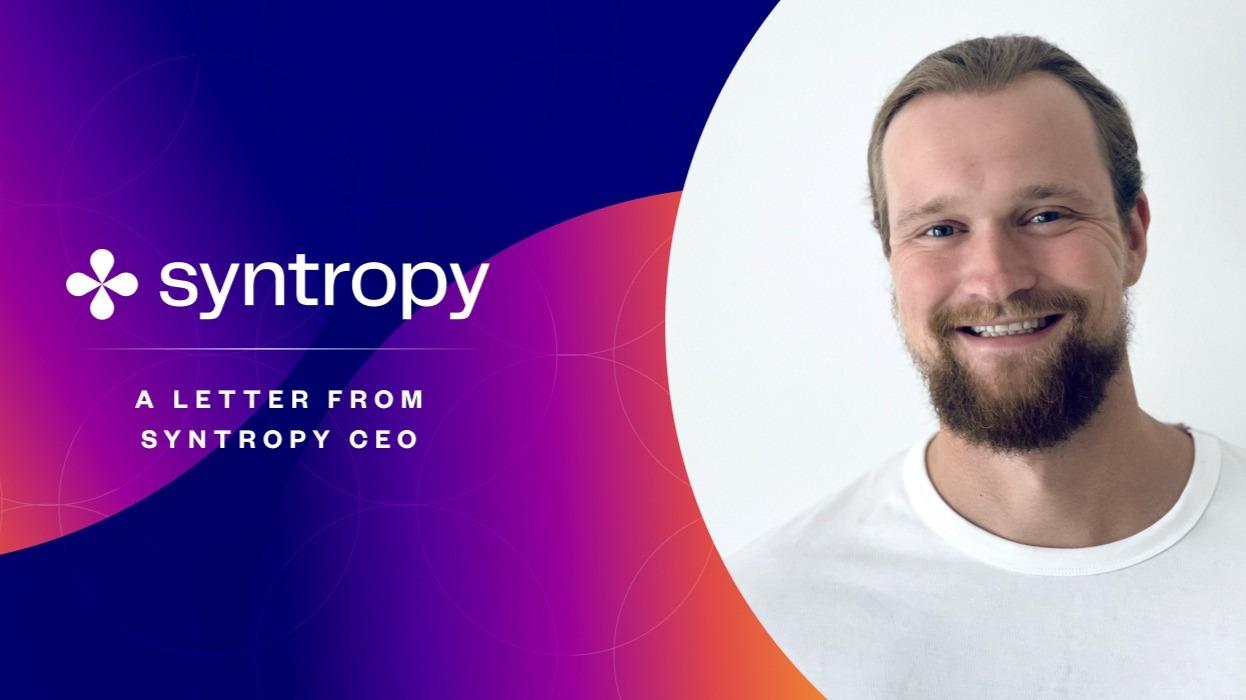 Domas  Syntropy CEO