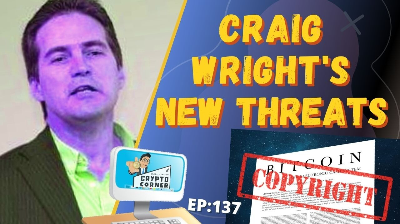 Craig Wright Copyright Claims of Bitcoin White Paper