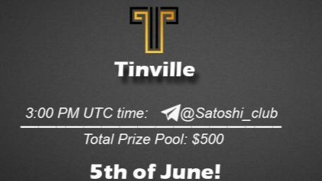 Tinville x Satoshi Club AMA Recap from 5th of June