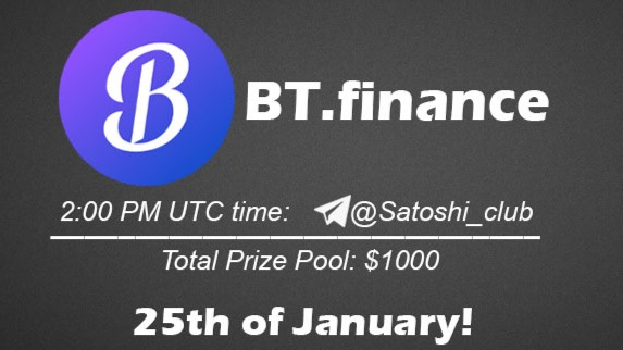 BT.finance x Satoshi CLUB AMA Session 25 Jan 2021
