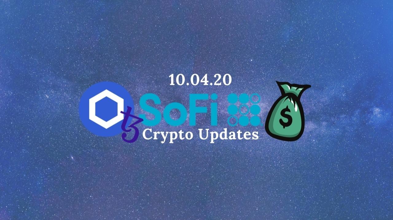 My Crypto Portfolio Updates - 10.04.20