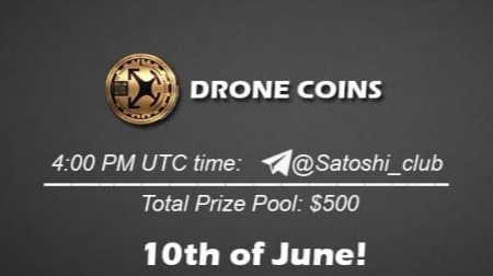 DRONE COIN x Satoshi Club AMA Recap from 10th of June