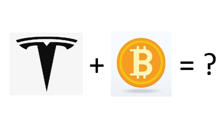 Tesla + Bitcoin
