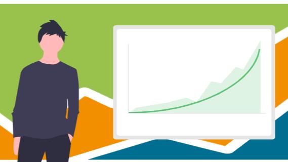 Portfolio performance growth chart