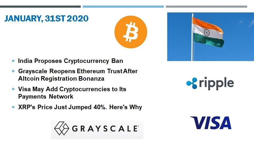 🗞 Daily Crypto News, January, 31st💰