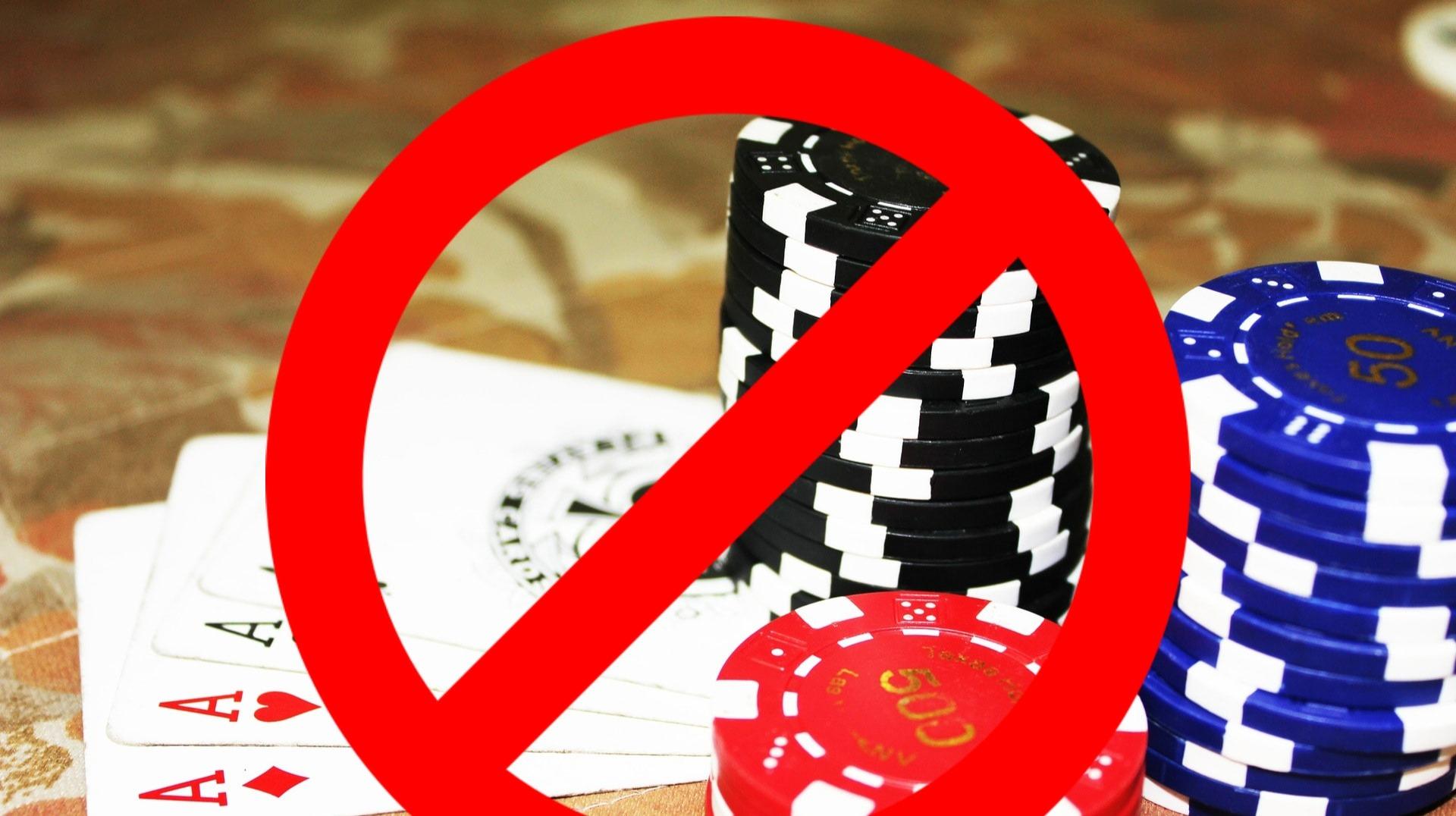 Ban the gambling , make it gone